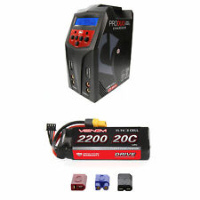 Venom 20C 3S 2200mAh 11.1V LiPo Battery and Pro Duo Charger Combo
