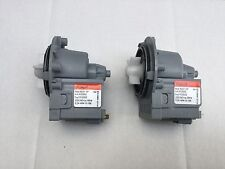 2 x Genuine LG Steam Washer Dryer Combo Water Drain Pump WD-12570FD WD-12576FD