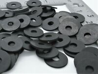 "1/4"" ID Rubber Washers - 3/4"" OD. 1/16"" Thick - Various Quantities"