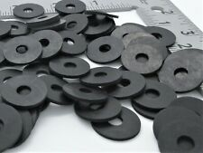 "5/16"" ID Rubber Washers - 3/4"" OD. 1/8"" Thick - Black"