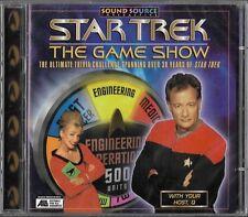 Star Trek The Game Show (1997) PC / MAC CD-ROM Trivia Challenge Game. New sealed