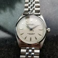 ROLEX Mens Oyster Perpetual Automatic ref.6564 c.1958 Vintage Bubbleback LV480