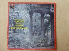 Chausson - Concert en ré majeur - J.P.Collard - A.Dumay - Quatuor Muir EMI(0142)