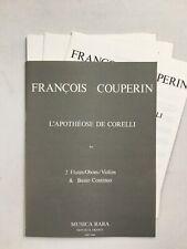 Noten. Couperin. L' Apotheose de Corelli.   Partitur & Stimmen.
