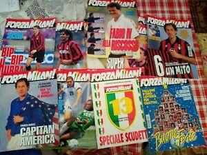 Forza Milan anni dal '89 al '96-leggere l'annuncio