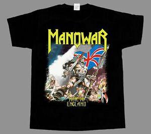Manowar Hail to England NEW BLACK SHORT SLEEVE T-SHIRT