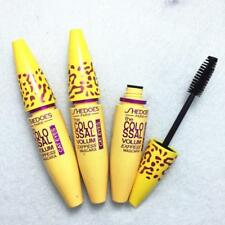 Hot Women Health Leopard Yellow Tube Volumizing Makeup Eyeliner Mascara