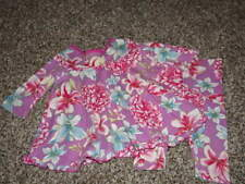 BOUTIQUE BABY LULU 12M 12 MONTHS PURPLE FLORAL DRESS LEGGING SET