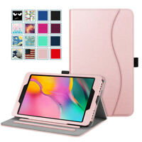"""For Samsung Galaxy Tab A 8.0"""" 2019 SM-T290/T295 Multi-Angle Case Stand w Packet"""