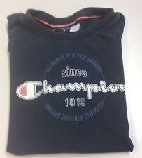 Champion Kinder T-Shirt blau Gr. 122 S 7/8