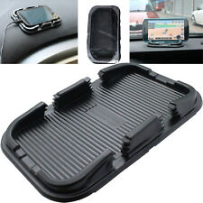 Car Silicone Gel Dashboard Anti Non slip Skidproof Pad Mat Stand Holder Black