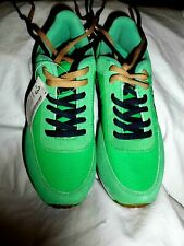 Authentic Rusty Sneaker Green Blue Trainers Double Laces Size 3 UK New with Tags