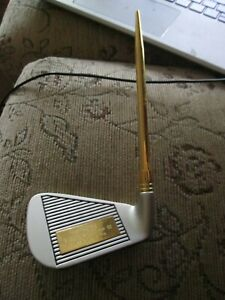 Putter Golf Club Trophy Award Engraved Shire G.C. Buckingham April 02 Nearest Pi
