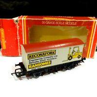 Hornby OO Gauge R202 Ransomes Reconafork Barnsley South Yorkshire van wagon 00