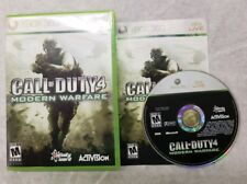 Call of Duty 4: Modern Warfare - Xbox 360 Game Complete FREE FAST SHIPPING