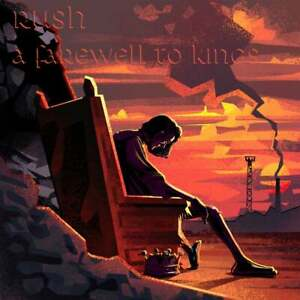 Rush A Farewell To Kings 40th Anniversary Limited Art Print Geddy Lee Neil Peart