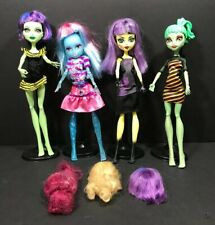 Monster High Doll Create A Monster Wigs Clothes Lot