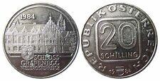 ÖSTERREICH KM2965.1  20 Schilling Grafenegg von 1984 in PP  999003