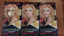Lot of 3 Revlon ColorSilk ButterCream Extra Light Natural Blonde 100 03G