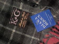 bufanda unisex K&G diana bijoux collecione dona nuevo con etiqueta tonos grises