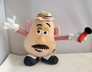 "Disneyland Mr. Potato Head Boardwalk Barker- Toy Story Plush - 2008 Hasbro 9"""