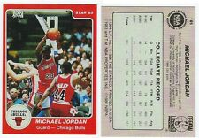 1985 Micheal Jordan Rookie STAR Company #101 Card RED VERSION RP