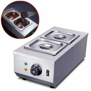 Electric Chocolate Cheese Melting Machine Heater Cylinder Melter Pan Warmer