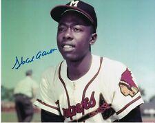 Hank Aaron Signed Autograph 8X10 Photo Braves