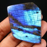 Quality Natural Multi Blue Labradorite Rock Rough Slab Cabochon Gemstone CG-100