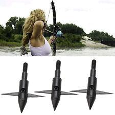 3pcs Fishing Fish Bow Hunting Arrow Tips Boardhead Archery Arrowhead Points New