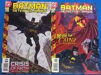 BATMAN in Detective Comics lot of (2) issues #733 #734 (1999) DC Comics FINE