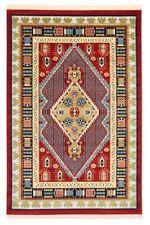Alfombras persas color principal rojo para pasillos