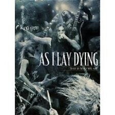 "AS I LAY DYING ""THIS WHO WE ARE"" 3 DVD SET NEU"