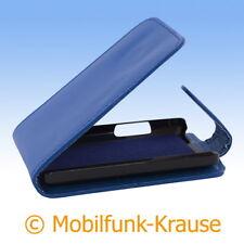 Funda abatible, funda, estuche, funda para móvil F. lg t385 (azul)