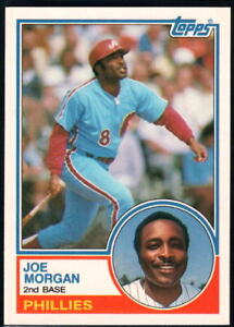 1983 Topps Traded #77T Joe Morgan NM-MT Phillies