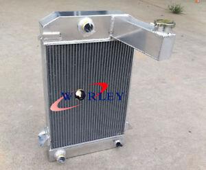 3 Row Aluminum Radiator For TRIUMPH TR2 / TR3 / TR3A / TR3B Manual MT