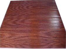 db2. Hochwertige BAMBUS Teppich  ca.190 x 190 cm.  Farbe DUNKEL BRAUN