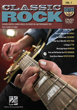 Classic Rock Guitar Play Along 8 Songs! DVD NEW!