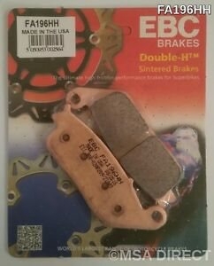 Victory Magnum (2015 to 2017) EBC Sintered REAR Brake Pads (FA196HH) (1 Set)