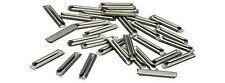 PIKO 55290 Set 24 GIUNZIONI Giunti Metallici scarpette in metallo scala H0 1:87