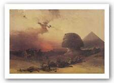 ART PRINT Approach of the Simoon Desert David Roberts 14x20 Haddads