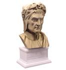 Dante Alighieri 3D Printed Bust Italian Poet and Philosopher Art FREE SHIPPING