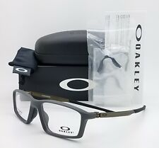 NEW Oakley Chamber RX Eyeglasses Frame Pavement Grey Metal OX8138 -0253 53mm