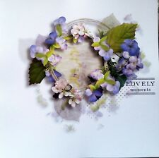 12 x 12 Printed Cardstock - Lovely Moments