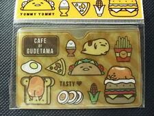 Sanrio Yummy Gudetama Plastic ID Business Card Holder 1 Pocket