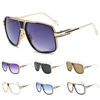 Fashion Designer Large Vintage Oversized Sunglasses Shades Mens Womens UV400