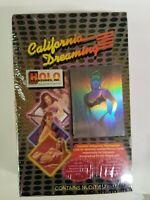 California Dreaming Trading Card Box VINTAGE **Mature**