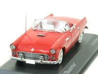 Minichamps Diecast 400 082031 Ford Thunderbird 1955 Red 1 43 Scale Boxed