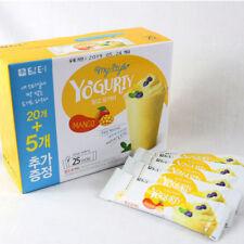 [US]Korea DAMTUH  Mango Yogurty Yogurt Powder, 25Sticks, Powdered Yogurt Starter