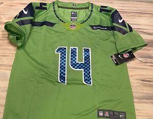 NWT-DK Metcalf Seattle Seahawks Nike Color Rush Jersey KIDS 16 Large 12th Man!!